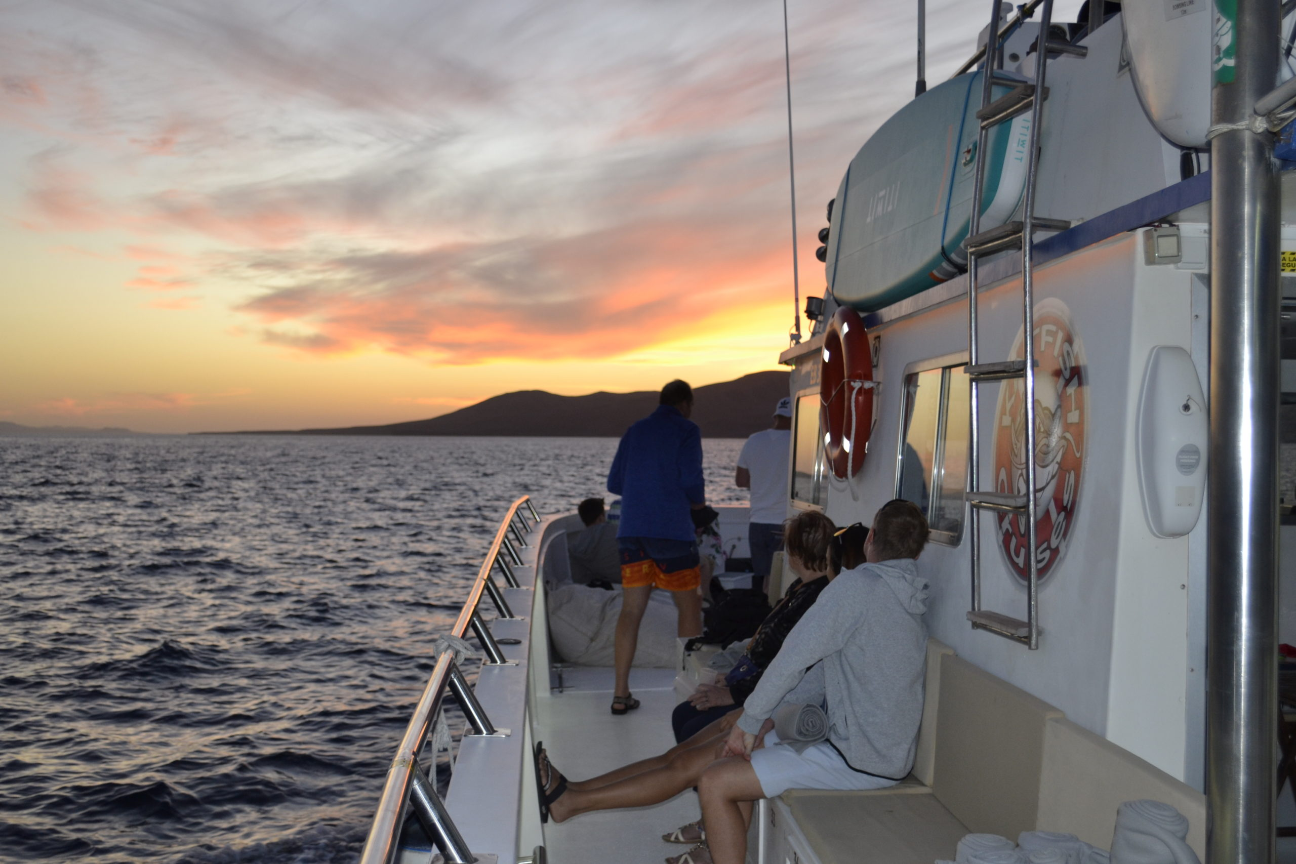sunset cruise in lanzarote